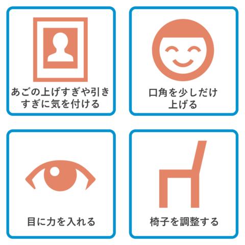 証明写真で顔の印象をよくする方法