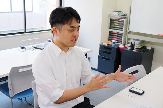 内定塾の講師齋藤弘透さん