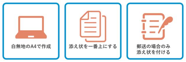 書類提出時の添え状の注意点